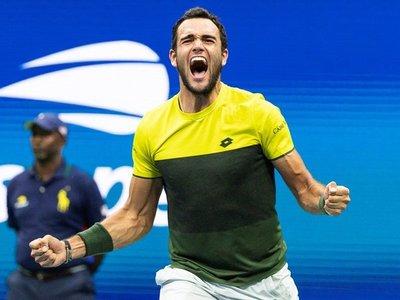 Berrettini jugará sus primeras semifinales de un Grand Slam