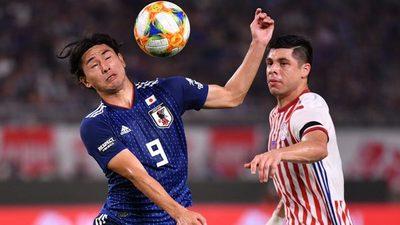 Baile de Japón y papelón de Paraguay