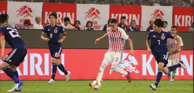 Pobre imagen y derrota paraguaya
