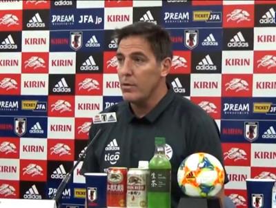 Berizzo reconoce que Paraguay fue superado por Japón