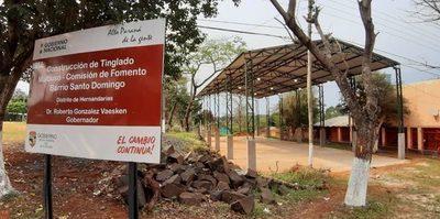 Grosera sobrefacturación del gobernador con   tinglado inservible en seccional de Hernandarias