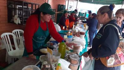 Feria de productos de granja en San Lorenzo
