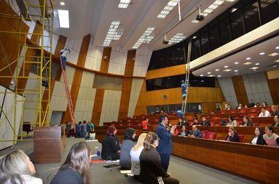 Ultiman detalles para la sexta conferencia mundial de jóvenes parlamentarios