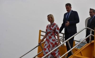 HOY / Ivanka Trump llega a Paraguay como última parada de su gira por Latinoamérica