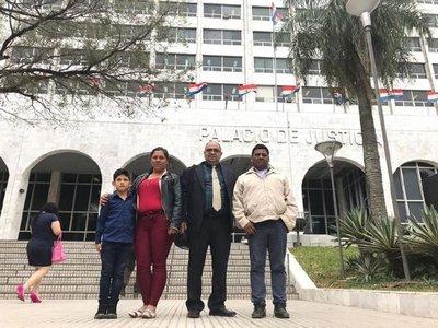 Indígenas de Sauce responden a la  demanda de desalojo de la Itaipú