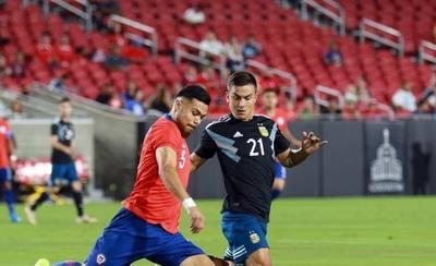 HOY / Chile y Argentina no se hacen daño y se van contentos con el empate