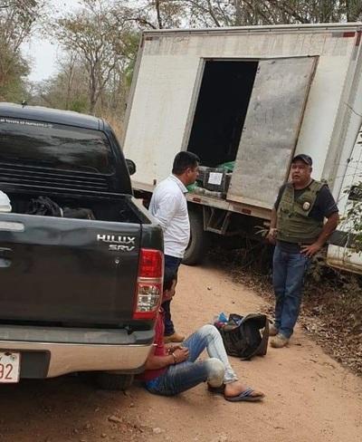 Cae cargamento de marihuana en San Carlos del Apa