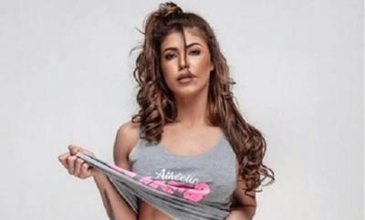 """En medio mexicano califican de """"sublime"""" la belleza de una modelo paraguaya"""