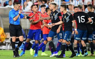 Chile y Argentina empatan sin goles