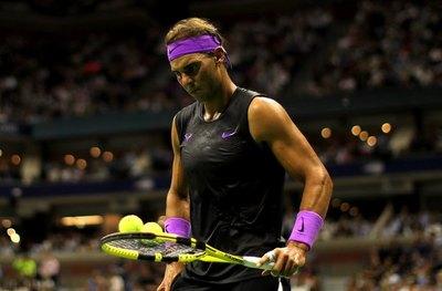 Rafa Nadal, a dos juegos de su cuarto US Open