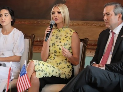 Ivanka Trump anunció millonaria inversión para apoyar a mujeres emprendedoras