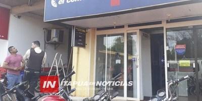 FINANCIERA SUFRE PRINCIPIO DE INCENDIO EN MAYOR OTAÑO
