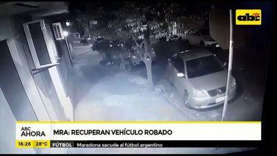 MRA: Recuperan vehículo robado