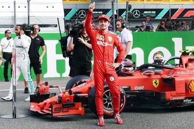 """Charles Leclerc logra en Monza su segunda """"pole"""""""