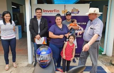 Expo Norte: Octava y novena motocicletas entregadas