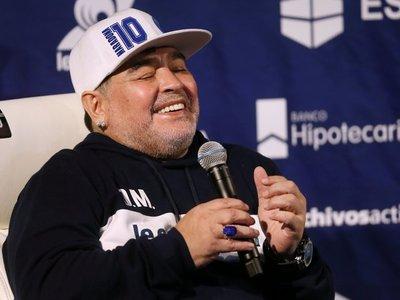 """Maradona y su vuelta al fútbol argentino: """"Sentía el corazón a reventar"""""""