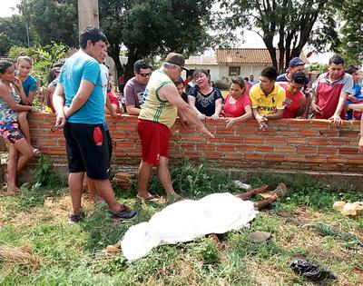 Hallan cadáver de presunto ladrón en baldío del barrio 23 de Octubre