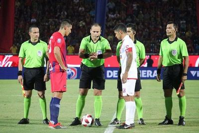 Los árbitros de la Copa