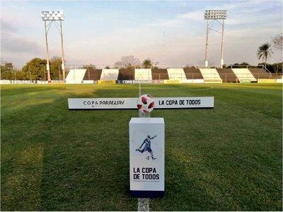 Arrancan los octavos de la Copa Paraguay