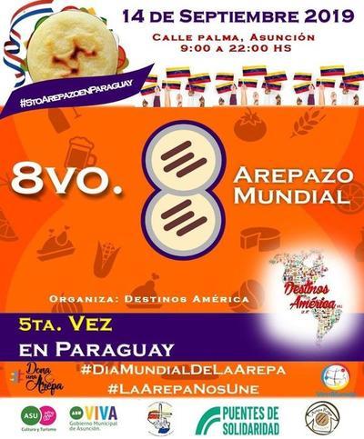 Día mundial de la Arepa, este sábado en calle Palma