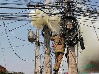 Viento norte tarova dejó sin luz a varias ciudades