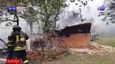 Incendios ponen en peligro a Reserva del Ybytyruzú