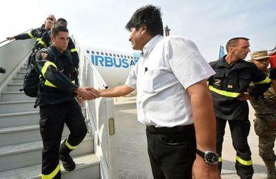 Fuego en Bolivia consume 2 millones de hectáreas