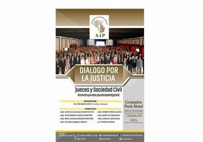 """Presentan """"Diálogo por la justicia"""""""