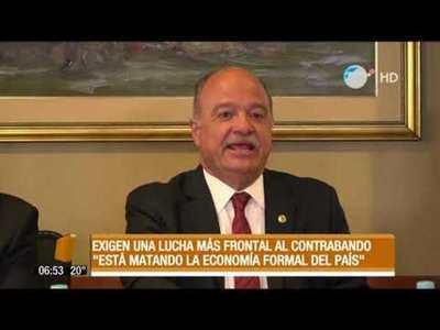 """""""El contrabando está matando la economía formal del país"""""""