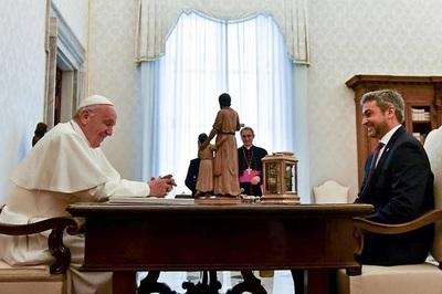 Abdo Benítez se reunirá con el papa Francisco