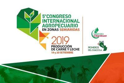 Congreso agropecuario dirigido a productores de leche y carne