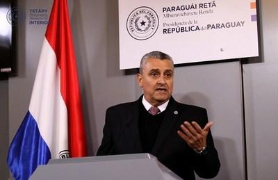 """Motochorros incontrolables en Asunción inciden en ánimo del ministro de Interior: """"Estoy insatisfecho"""""""