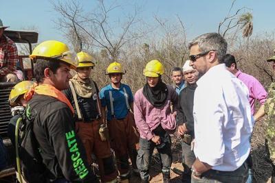Ejecutivo declara emergencia ambiental en Alto Paraguay y Boquerón
