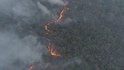 Incendios forestales: Emergencia ambiental para Alto Paraguay y Boquerón