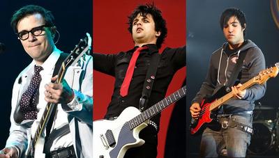 Green Day, Weezer y Fall Out Boy anuncian gira mundial conjunta y el lanzamiento de sus nuevos álbumes