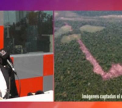Deforestación acelerada en la reserva natural Morombí