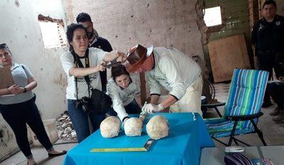 Inician examen forense a restos óseos