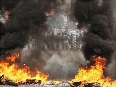 Protesta de paseros desató jornada de furia en zona primaria de CDE