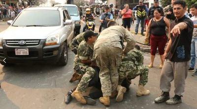 Siguen detenidos algunos paseros en Ciudad del Este