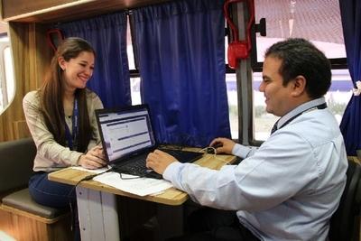 PAC Móvil de Tributación brinda hoy sus servicios gratuitos en Ñemby