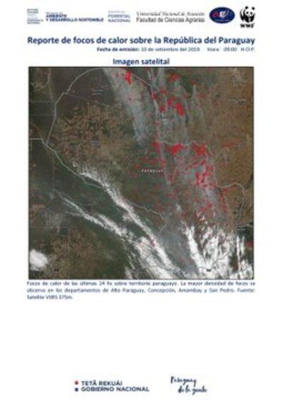 Registran más de cien mil hectáreas de bosques dañadas por incendios