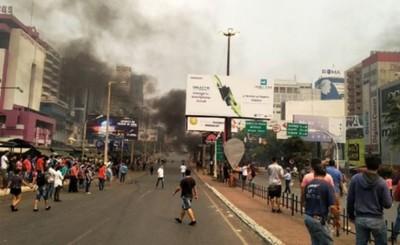 Imputan a seis manifestantes tras enfrentamiento