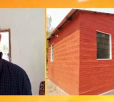 Entregan vivienda social a familia de extrema pobreza