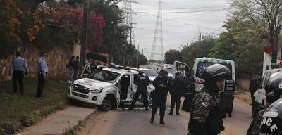 Balacera y rescate de jefe narco en la costanera de Asunción
