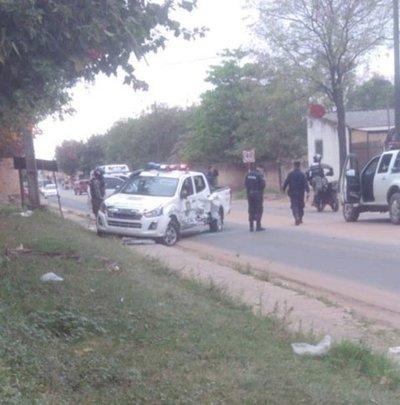 Liberan a jefe narco y policía resulta herido en balacera