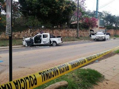 Rescatan a jefe del Comando Vermelho tras tiroteo con Policías en la Costanera