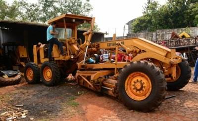 Comuna invierte más de G. 157 millones en reparación de maquinarias