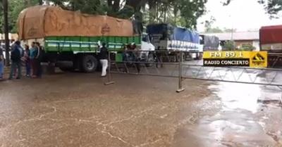 Comienzan a verificar camiones repletos de contrabando