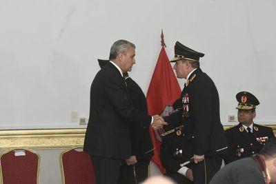 Asume Resquín como nuevo Comandante de la Policía