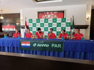 Paraguay enfrenta desde mañana a México por Copa Davis